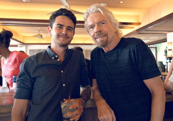 I had dinner with Richard Branson & accidentally wrecked his house